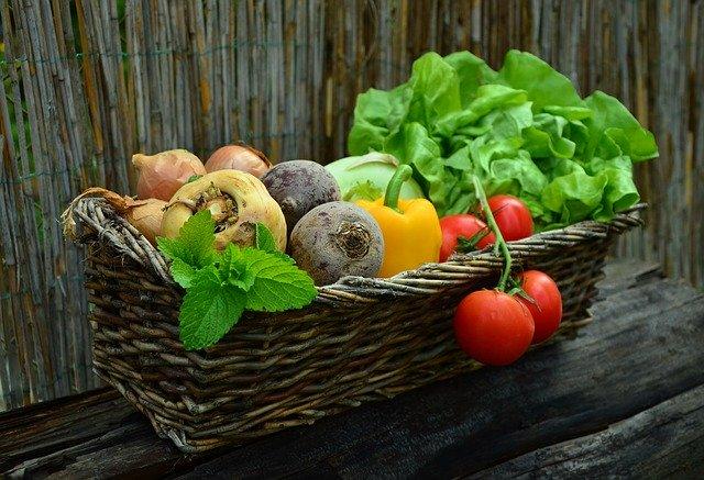 Koš zeleniny