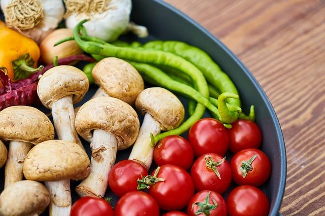 vegansky pestrá strava