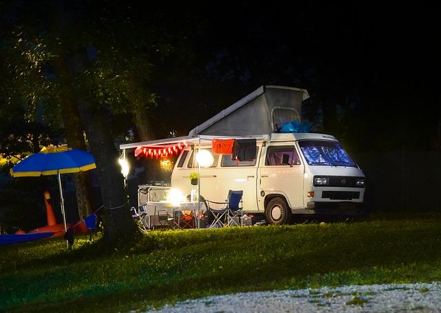 pojízdný karavan